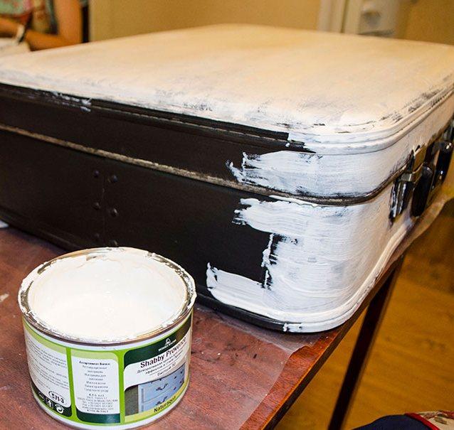 Майстер-класи з декупажу старий чемодан, необхідні матеріали