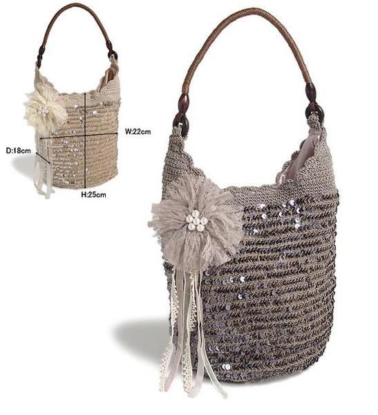 Популярні моделі сумок, пов'язаних гачком, схеми і майстер-класи