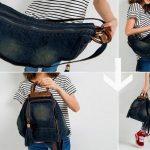 Причини популярності жіночого рюкзака-трансформера, його особливості
