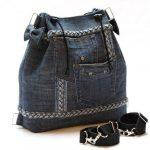 Стильні моделі рюкзаків зі старих джинсів своїми руками