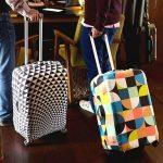 Викрійки для пошиття чохла на валізу своїми руками, поради новачкам