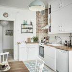 Дизайн маленької кухні (100 фото)