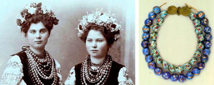 Українські національні прикраси: екскурс в історію краси